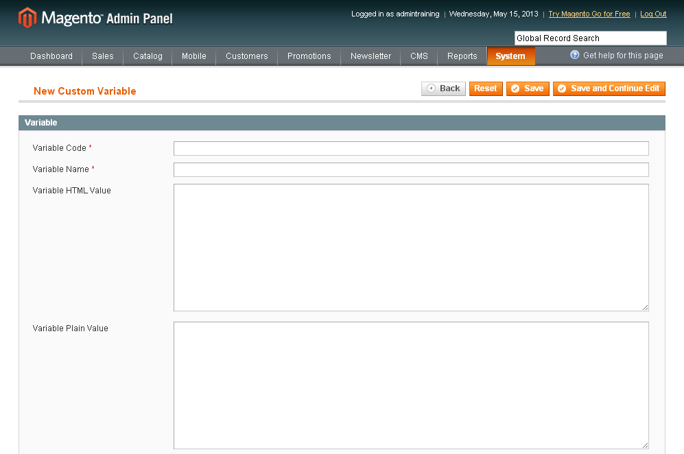 Magento Email Templates And Custom Variables View - Magento newsletter templates
